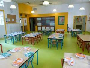 The 'school restaurant' in a Paris preschool