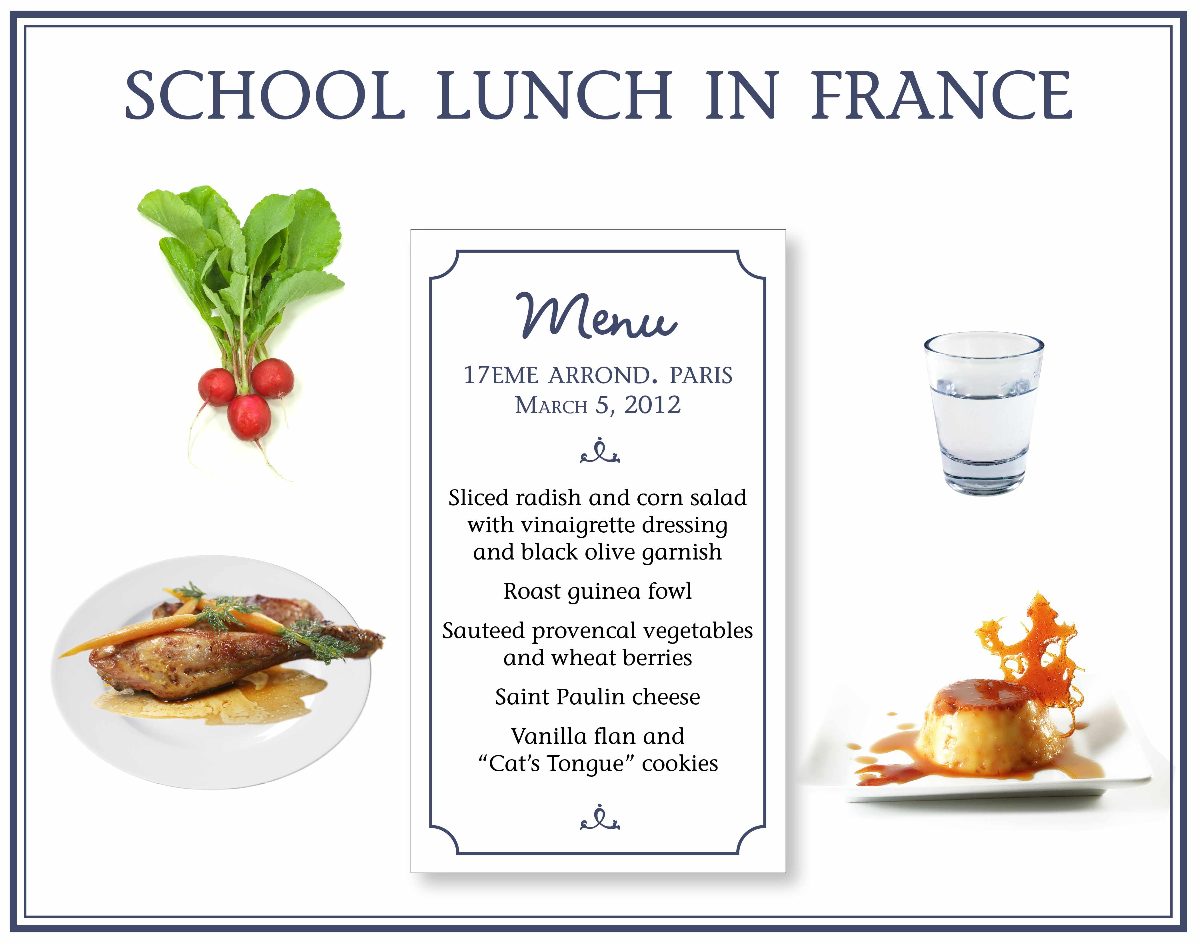 and radish salad anyone a french kids 39 school lunch from paris