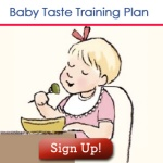Baby Taste Training Plan Sign Up