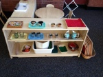 Montessori utensils organization