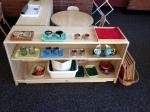 Montessori utensils organization